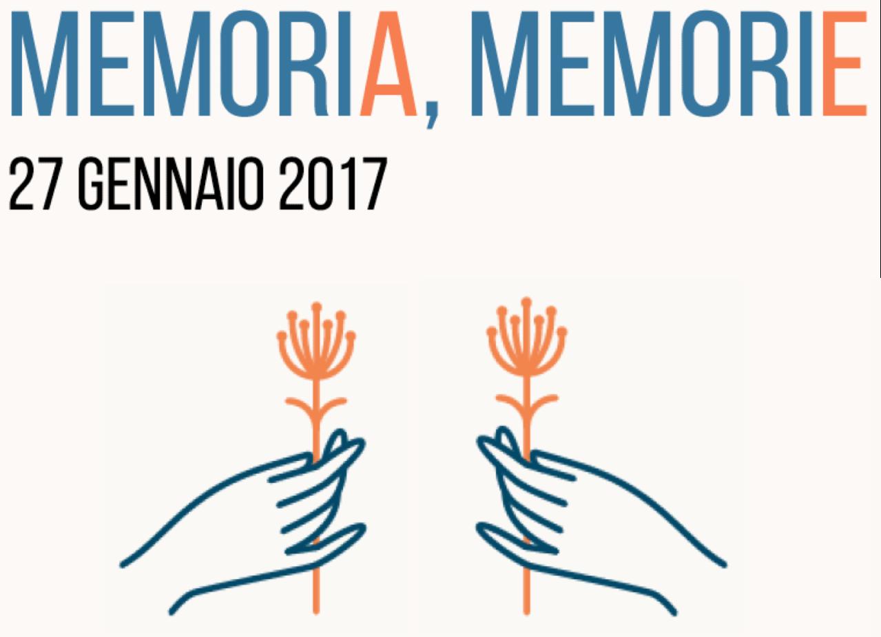"""""""Memoria, Memorie"""". Il 27 gennaio non dobbiamodimenticare."""