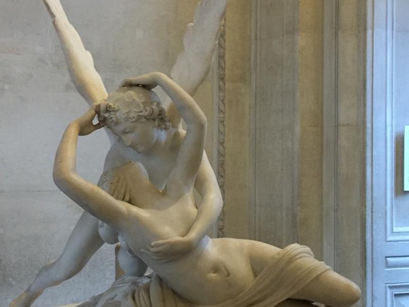 Eros and Psiche - Louvre